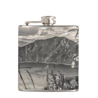 Quilotoa Lake Latacunga Ecuador Hip Flask
