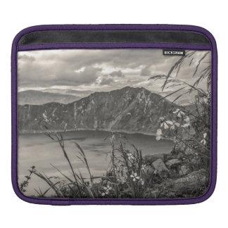 Quilotoa Lake Latacunga Ecuador iPad Sleeve