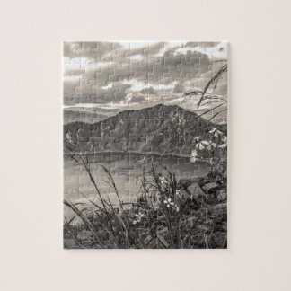 Quilotoa Lake Latacunga Ecuador Jigsaw Puzzle