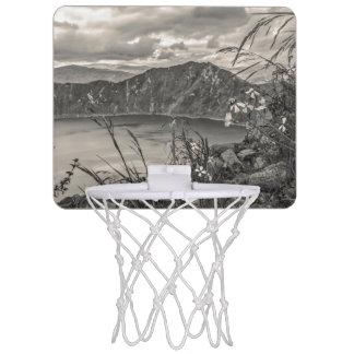 Quilotoa Lake Latacunga Ecuador Mini Basketball Hoop