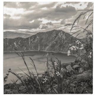 Quilotoa Lake Latacunga Ecuador Napkin