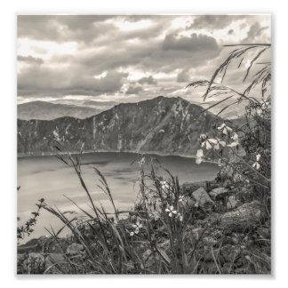 Quilotoa Lake Latacunga Ecuador Photo Print