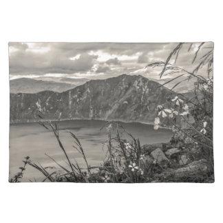 Quilotoa Lake Latacunga Ecuador Placemat