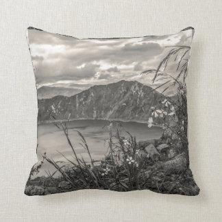 Quilotoa Lake Latacunga Ecuador Throw Pillow