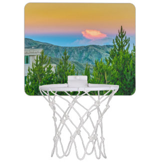 Quilotoa Town, Latacunga, Ecuador Mini Basketball Hoop