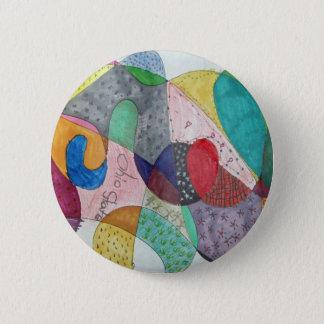 Quilt 2 Inch Round Button