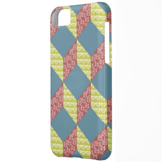 Quilt Baby Block Pattern in Retro Colors Cover For iPhone 5C