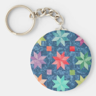 Quilt Block 6 Key Chain