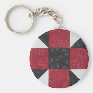 Quilt Block Key Chain 5