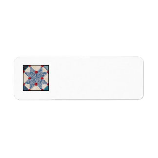 Quilt Block L Return Address Labels