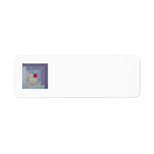 Quilt Block Return Address Labels