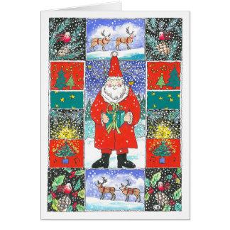 """""""Quilt"""" Custom Christmas Card"""