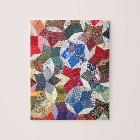 Quilt Fabric Jigsaw Puzzle