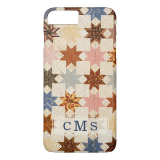 Quilt | LeMoyne Star Antique Partchwork iPhone 8 Plus/7 Plus Case