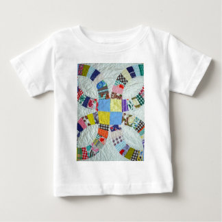 Quilt pattern baby T-Shirt