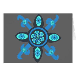 Quilt pattern card