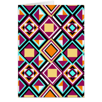 Quilt Pattern Repeat Art Card