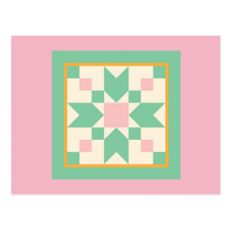 Quilt Postcard - Stepping Stones