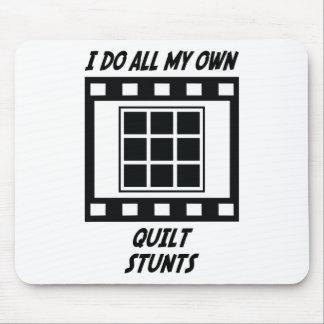 Quilt Stunts Mouse Pad