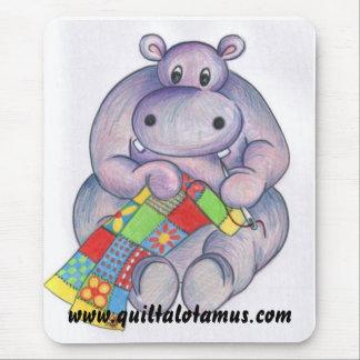 Quiltalotamus Mouse Mat