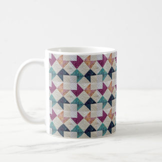 Quilted Batik Coffee Mug