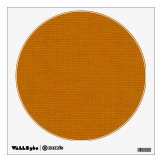 Quilted Burnt Orange Wall Decal