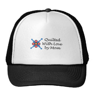 QUILTED BY MOM TRUCKER HAT