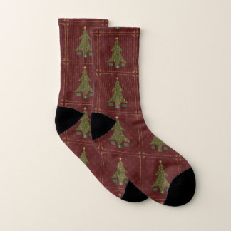 Quilted Christmas Socks 1
