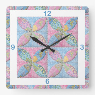 Quilted Classic Melon Patch for the Quilter Wallclock