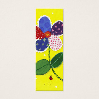 Quilted Daisy Bookmark Mini Business Card