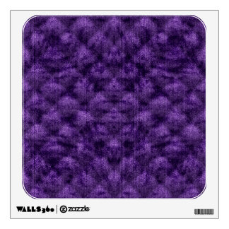 Quilted Deep Royal Purple Velvety Pattern Wall Sticker