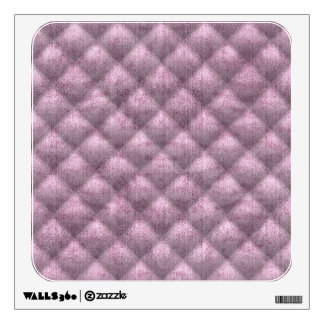 Quilted Dusty Mauve Velvety Textured Pattern Wall Decal