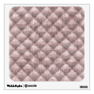 Quilted Dusty Pink Velvety Textured Pattern Wall Decal