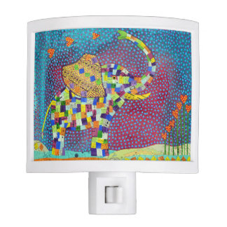 Quilted Elephant Nightlight Night Lites