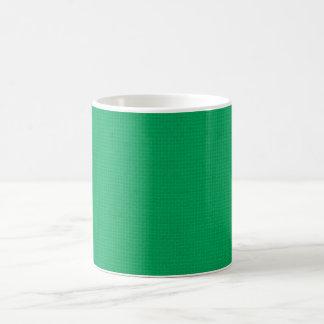 Quilted Emerald Coffee Mug