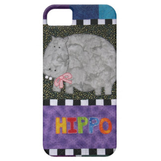 Quilted Hippo Case iPhone 5 Cover