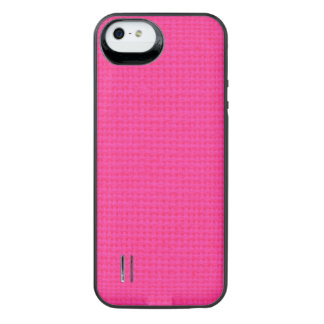 Quilted Hot Pink iPhone SE/5/5s Battery Case