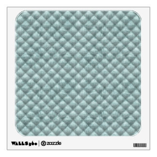 Quilted Pale Sea Green Imitation Velvet Wall Sticker