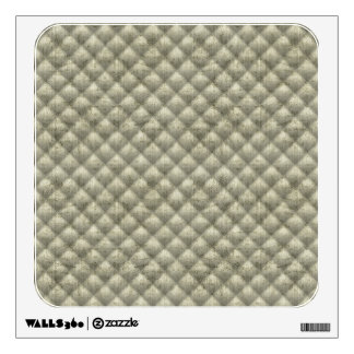 Quilted Sage Green Imitation Velvet Wall Sticker