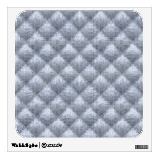 Quilted Soft Blue Velvety Style Pattern Wall Decal