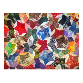 Quilted Stars Postcard