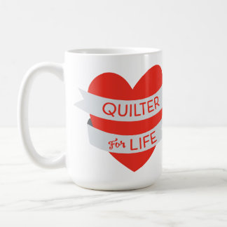 Quilter for Life Mug