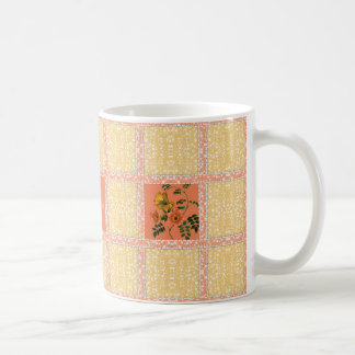 Quilter's Garden Window with Custom Name Coffee Mug