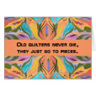 quilters humour card