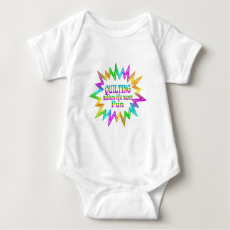 Quilting More Fun Baby Bodysuit
