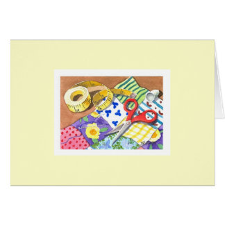 Quilting Notions Card