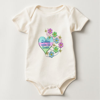 Quilting Sparkles Baby Bodysuit