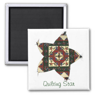 Quilting Star Magnet