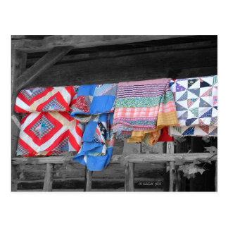 Quilts Postcard
