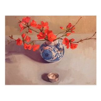 """Quince"" Art postcard by Sarah Sedwick"